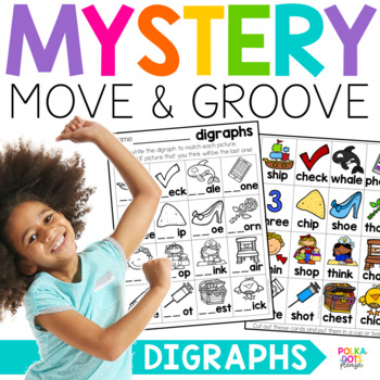 Mystery Move and Groove Digraphs Game