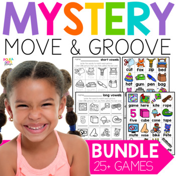 Mystery Move and Groove Phonics Game BUNDLE