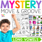 Mystery Move and Groove Long Vowels Game