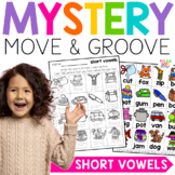 Mystery Move and Groove Short Vowels Game