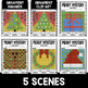 Mystery Music Grids- Christmas Scenes (Clefs/Accidentals/Symbols)