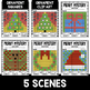 Mystery Music Grids- Christmas Scenes (Quarter/Eighth/Sixteenth Notes)