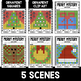 Mystery Music Grids- Christmas Scenes (Whole/Half/Quarter Rest Values)