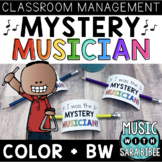Mystery Musician {Classroom Management Tool for Music}
