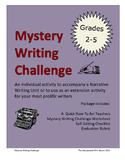 Mystery Narrative Writing Challenge