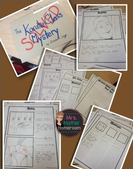 Mystery Novel Book Report (Case File) Project