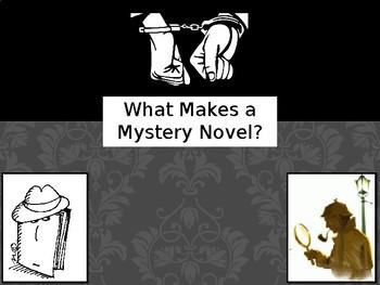 Mystery Novel Notes