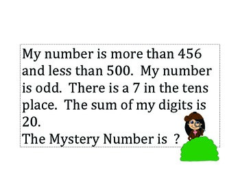 Mystery Number 2