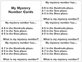 Mystery Number Activities