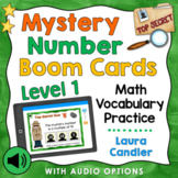 Mystery Number Detectives Level 1 Boom Cards (With Audio Options)