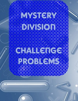 Mystery Number Division Challenge- Enrichment