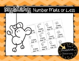 Mystery Number More or Less Game--Build Number Sense!