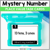 Place Value Mystery Number Math Activity for 2nd & 3rd Grade   Distance Learning