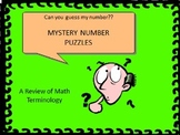 TEST REVIEW: Mystery Number Puzzle Task Cards