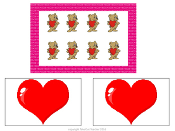 Mystery Number Valentine's Day - A Tools of the Mind Inspired Math