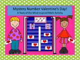 Mystery Number Valentine's Day - A Tools of the Mind Inspi