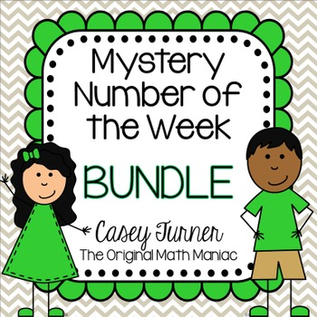 Mystery Number of the Week Bundle Sets 1 - 4!