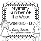 Mystery Number of the Week Set 2 in Black and White