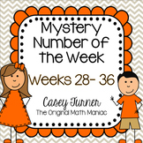 Mystery Number of the Week Set 4 in Color