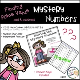Mystery Numbers-Math Fluency (adding with tens)
