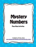 Mystery Numbers - Place Value Activities