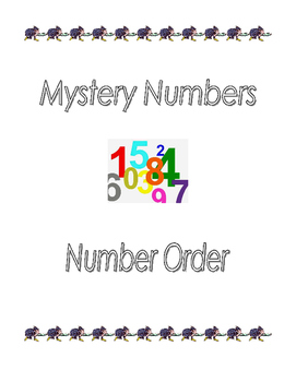 Mystery Numbers Problem Solving & Number Order