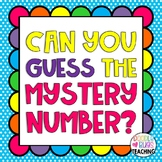 Mystery Numbers Unit {Can you guess my mystery number?}