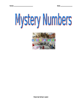 Mystery Numbers with Decimal Place Value