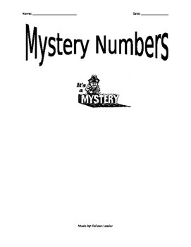 Mystery Numbers with Decimals