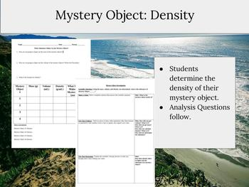 Mystery Object Performance Assessment: Density