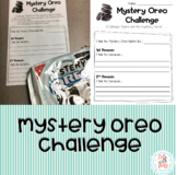 Mystery Oreo Challenge: Opinion Writing