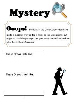 Mystery Oreo detective file