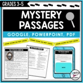 Mystery Passages with Reading Comprehension Questions   DI