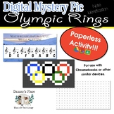Mystery Pic - Olympic Rings Color By Note