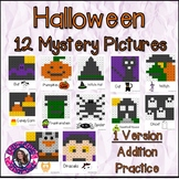 Halloween Mystery Pictures- Hundreds Chart Addition Practice