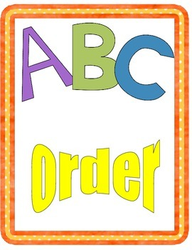 Mystery Picture ABC Order Game FREE