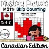 Mystery Picture - Counting by 2s, 3s, 5s, 10s, 20s - Canad