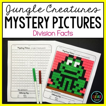 Mystery Pictures Jungle - Division Facts