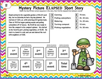 Mystery Picture Elapsed Time SHORT Story