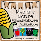 Fall and Halloween Addition Mystery Picture
