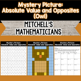 Mystery Picture For Absolute Value and Opposites