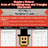 Mystery Picture For Finding the Area of Parallelograms and
