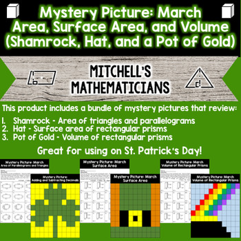 Mystery Picture For St. Patrick's Day - Geometry