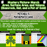 Mystery Picture For St. Patrick's Day Geometry