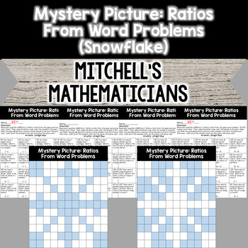 Mystery Picture For Writing Ratios From Word Problems
