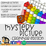 Grammar Mystery Picture (Color by Number)