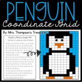 Penguin Math FREE Winter Activity (Coordinate Grid)