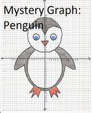 Mystery Picture Graph - Penguin - Fun Graphing Practice!