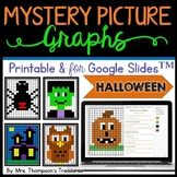 Halloween Activities - Mystery Picture Graphs