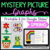 Spring Math Mystery Picture Graphs